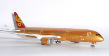 Boeing 787-9 Hainan Airlines Gold JC Wings Diecast Model Scale 1:400 XX4034 E
